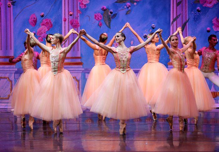 moscow ballet nutcracker Waltz of the Flowers