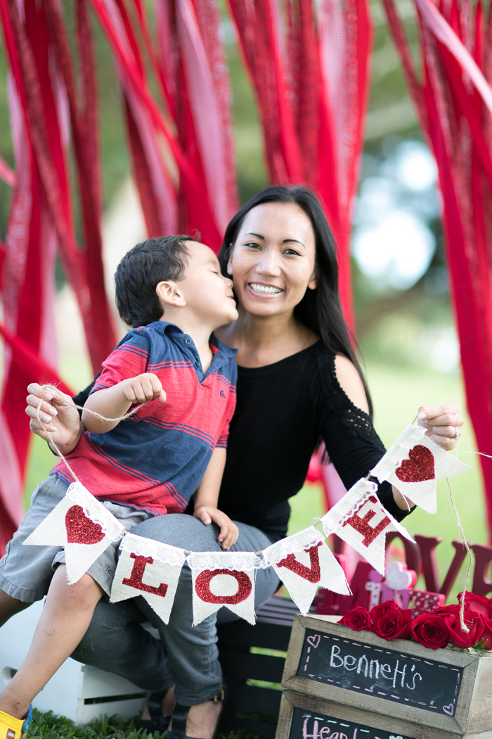 celebrate happy hearts day love banner