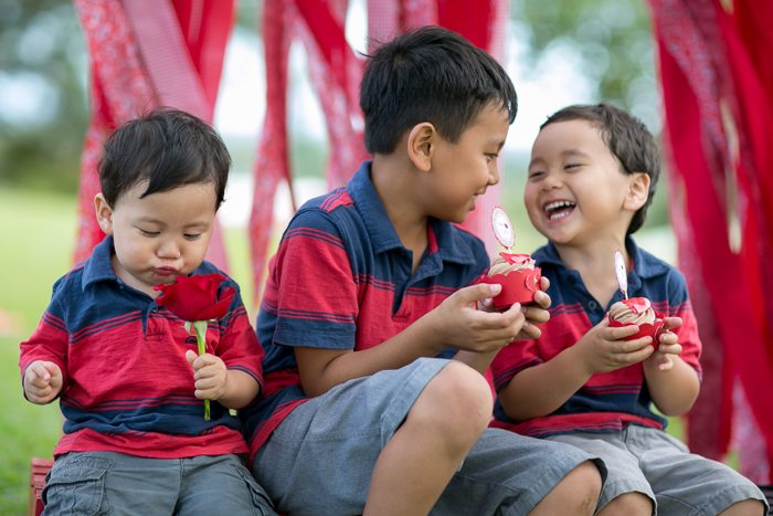 celebrate happy hearts day with lots of giggles