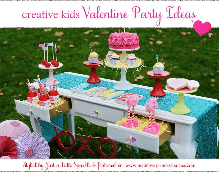 Creative Kids Valentine Party Ideas