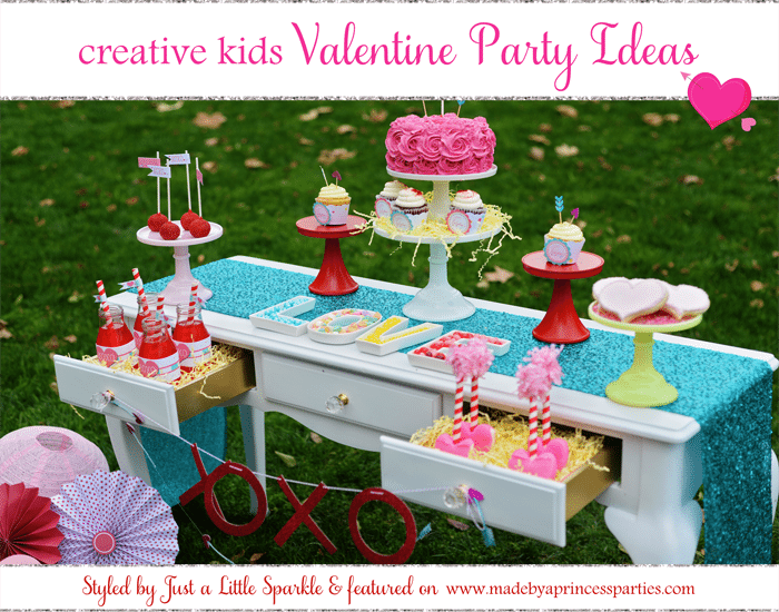 Creative Kids Valentine Party Ideas