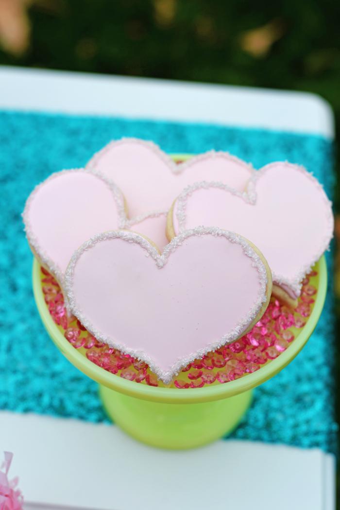 Creative Kids Valentine Party Ideas cookies