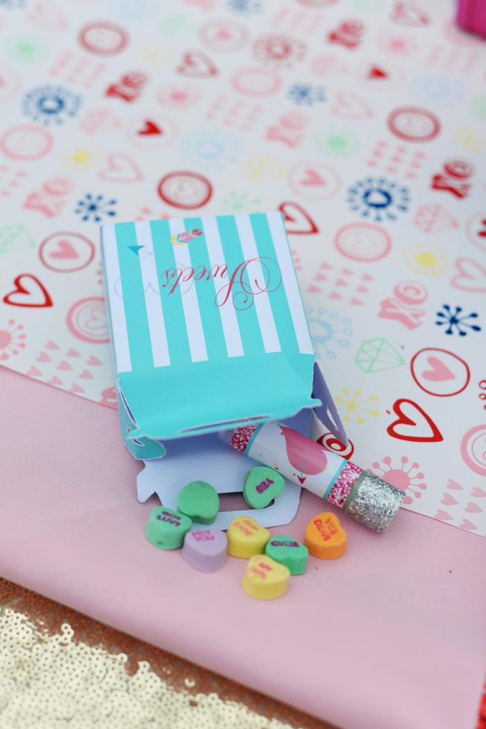 Creative Kids Valentine Party Ideas treat box
