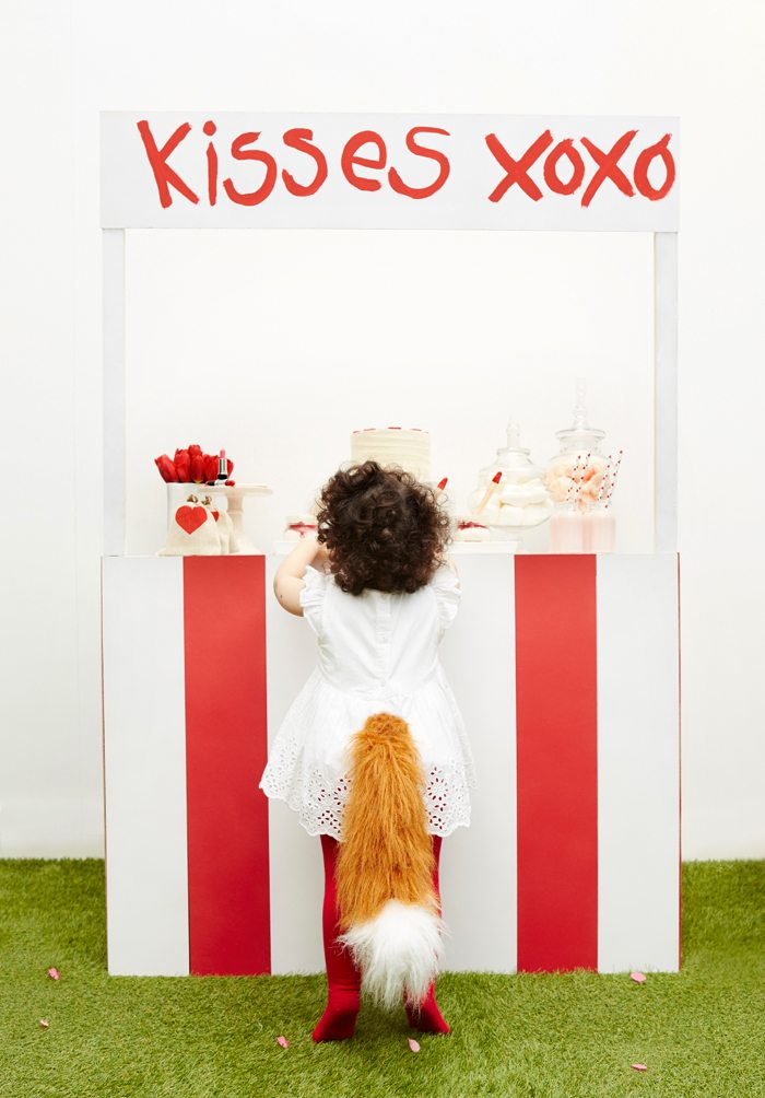 Kissing Booth Valentines Day Party little fox