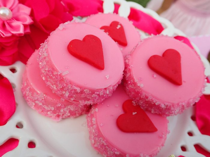 Sweet Party for Sweet Girls chocolate covered oreos