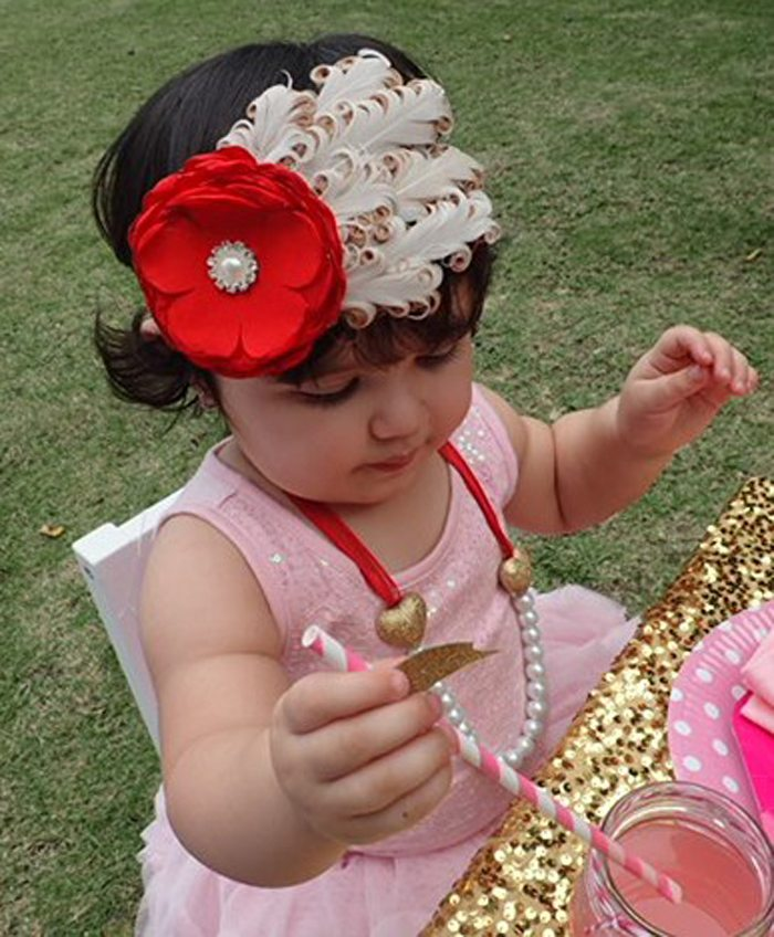 Sweet Party for Sweet Girls pretty headband