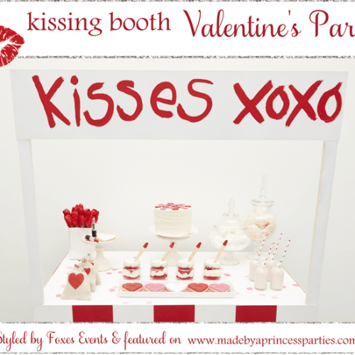 kissing booth valentines party