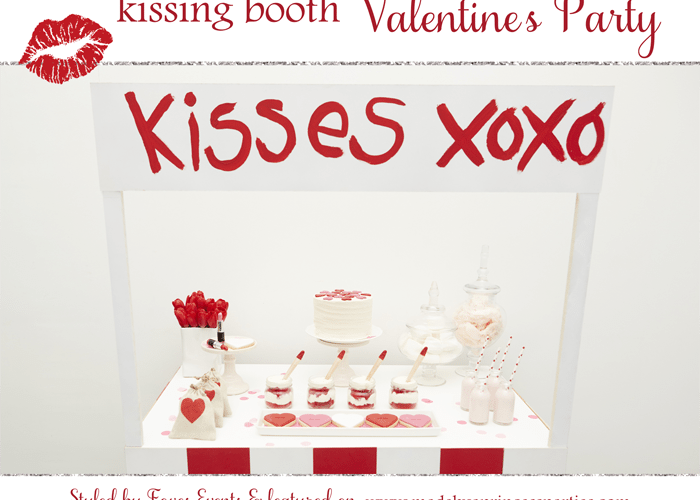 Kissing Booth Valentines Day Party