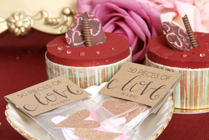 sweethearts treats for two gold hearts