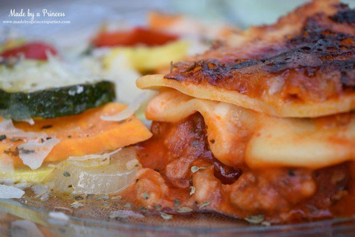 hearty seasonal vegetable casserole recipe lasagna slice 2