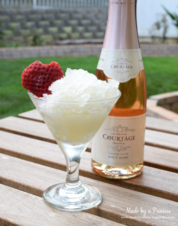 sparkling champagne granita sparkling champagne granita with honey recipe
