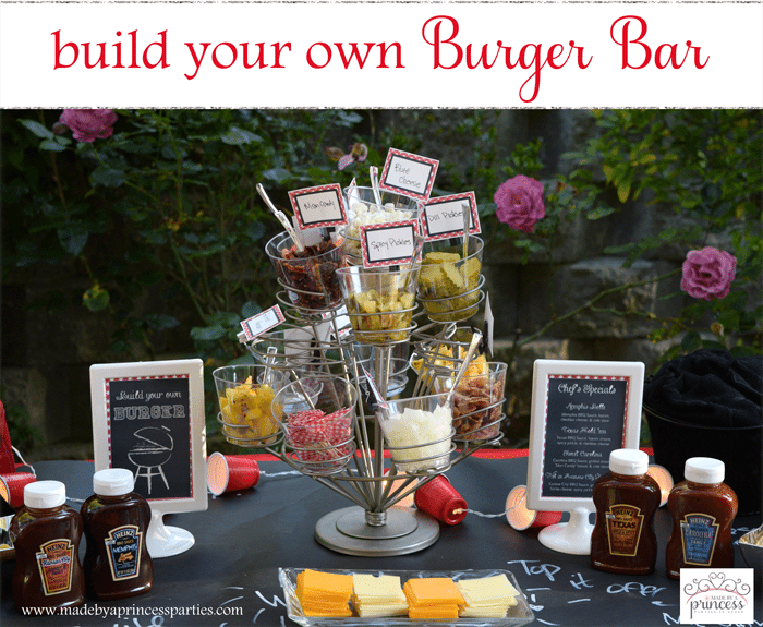 Build Your Own Burger Bar Party Ideas