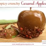 spicy crunchy caramel apple recipe