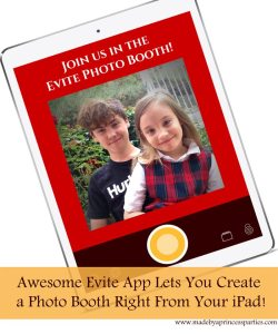 Awesome Evite App Lets You Create Cool Photo Booth