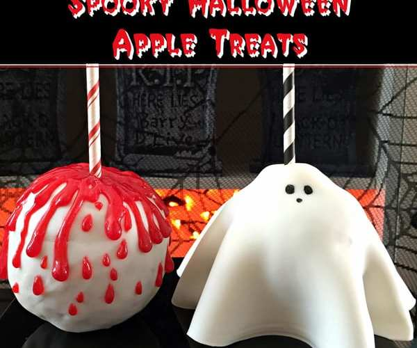 Yummy Spooky Halloween Apple Treats