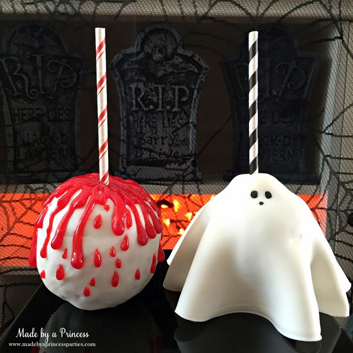 yummy-spooky-halloween-apple-treats-bloody-apples-and-creepy-ghost-wm