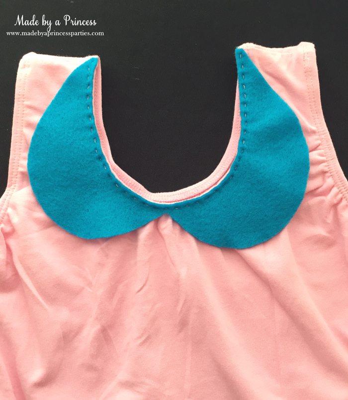 diy-shopkins-shoppie-halloween-costume-hand-stitch-collar-to-leotard