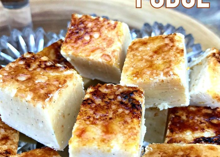 Marshmallow Creme Brulee Fudge Recipe