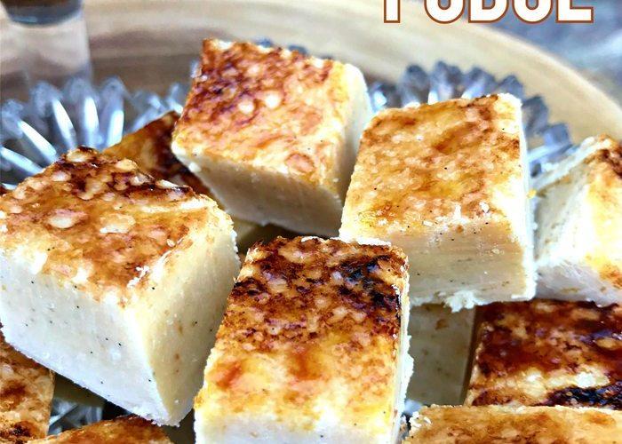 Marshmallow Creme Brulee Fudge Recipe