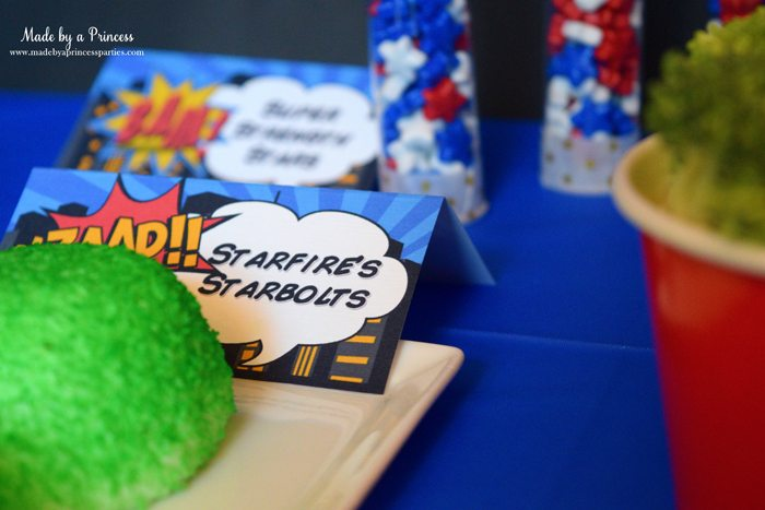 Superhero-Inspired-Party-Food-Ideas-Free-Printables-starfires-starbolts