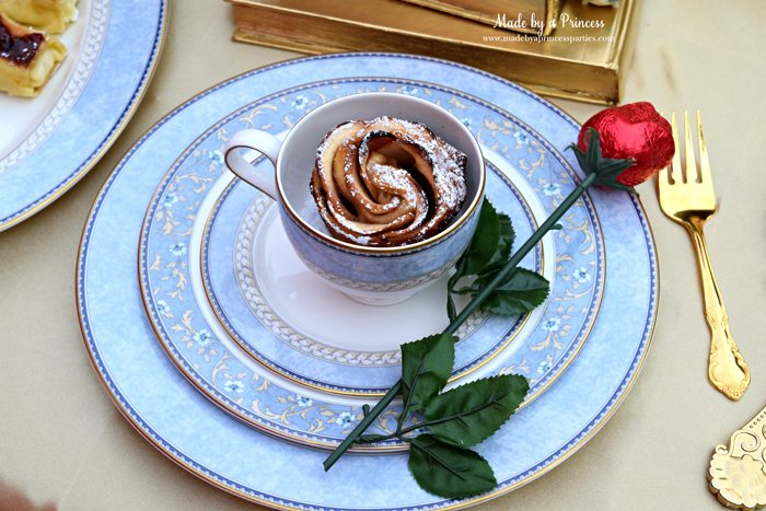 Beauty-and-the-Beast-Movie-Tea-Party-for-Two-apple-rose-and-pretty-china-set
