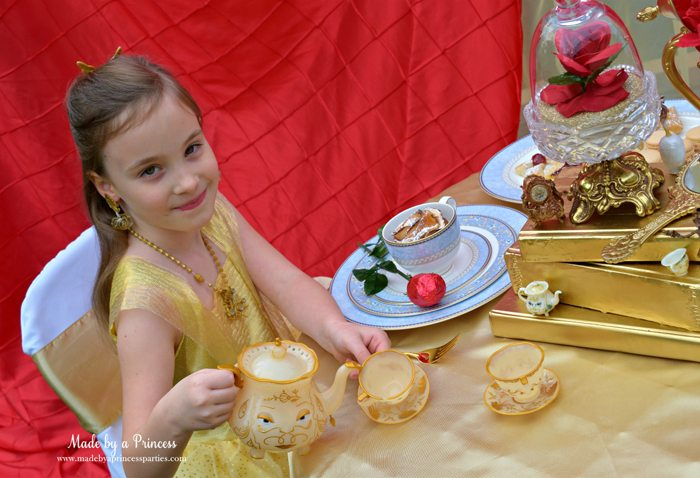 Beauty-and-the-Beast-Movie-Tea-Party-for-Two-pretty-belle-serving-tea