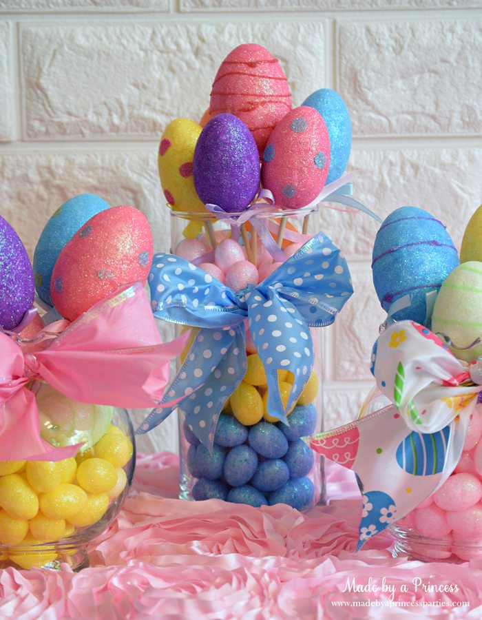 Creative Dollar Store Easter Centerpiece Tutorial 15 minute craft