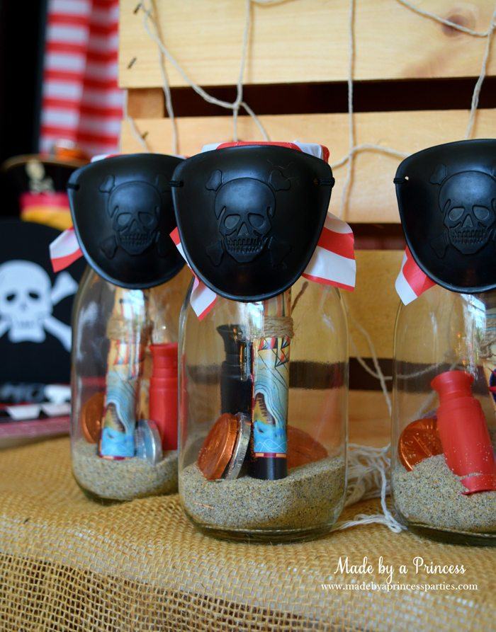 Pirate Bottle Invitations Party Idea – Message in a Bottle Party Invitations