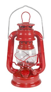 Fishing Baby Shower Ideas red camping lantern