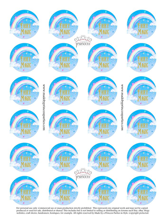Glitter Fairy Jar Party Idea Tutorial Free Printable MadebyaPrincess