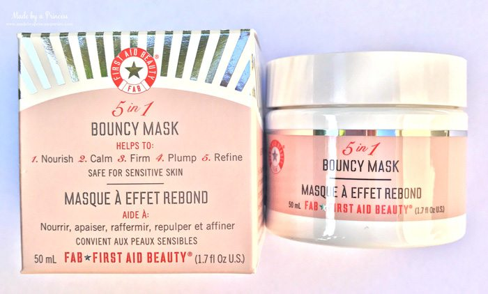 POPSUGAR Must Have August 2017 Subscription Box Review 5 in 1 Bouncy Mask from First Aid Beauty