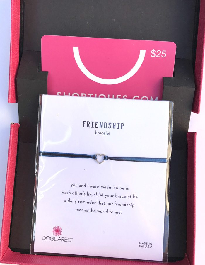 POPSUGAR Must Have August 2017 Subscription Box Review gift card from shoptiques