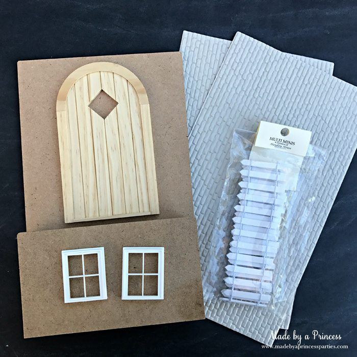 How to Create Your Own Tiny Elf Door Tutorial elf door kit MadebyaPrincess #elfdoor #fairydoor #elfdoorkit