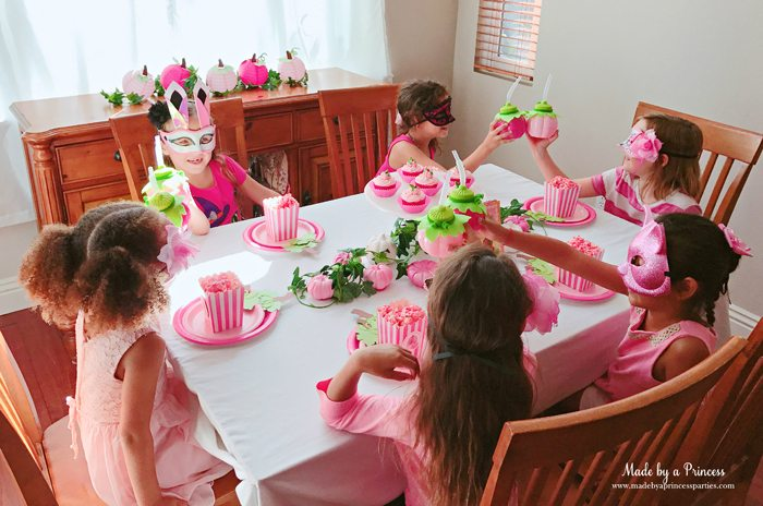Pink Pumpkin Halloween Party Ideas cheers to pink pumpkin cups Made by a Princess #pinkparty #pinkoween #pinkpumpkinparty