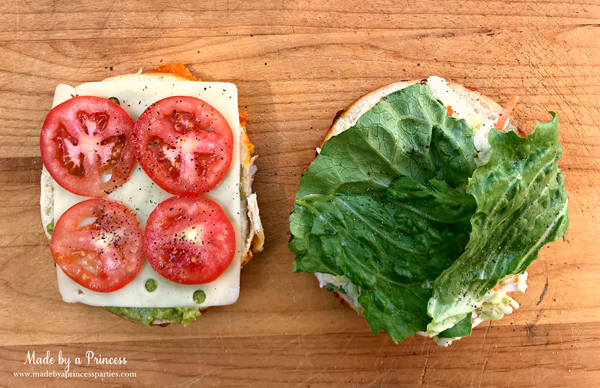 Best Turkey BLT Sandwich Recipe add tomatoes and lettuce via @madebyaprincess #turkeysandwich #blt #bltsandwich #bestsandwich #recipe #turkeyblt #madebyaprincess