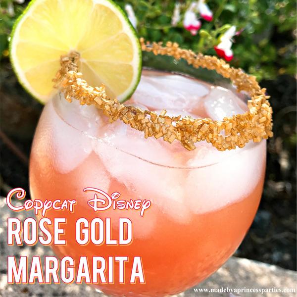 Copycat Disney Rose Gold Margarita