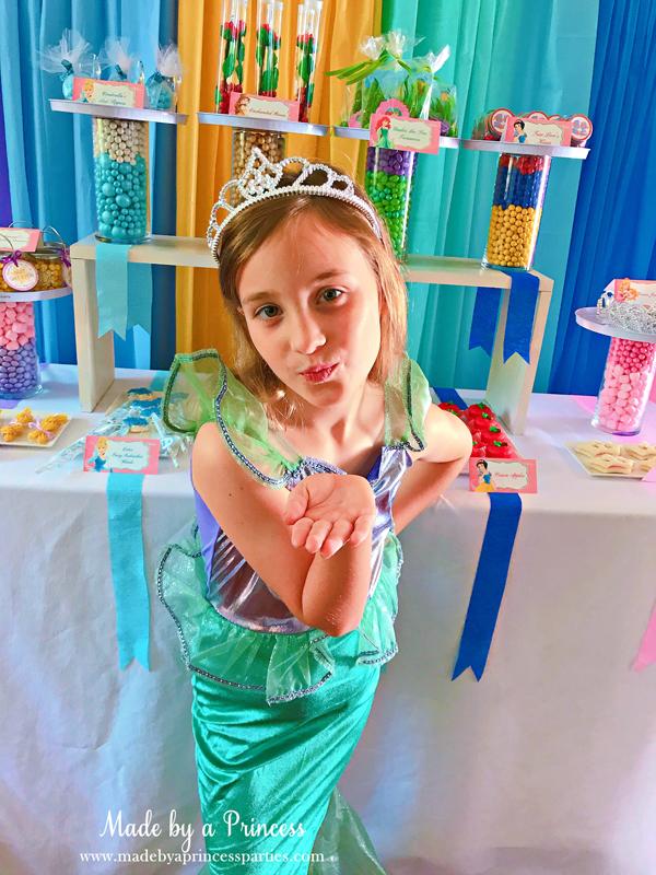 Disney Princess Party Ideas Ariel Costume