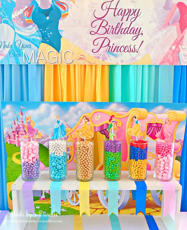 Disney Princess Party Ideas Princess Candy Bar