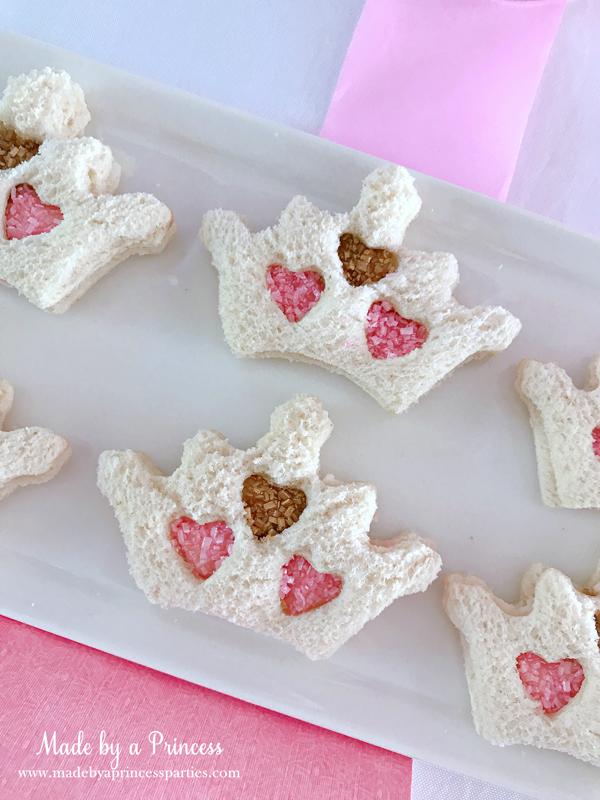Disney Princess Party Ideas Sleeping Beauty Aurora fairy sandwiches