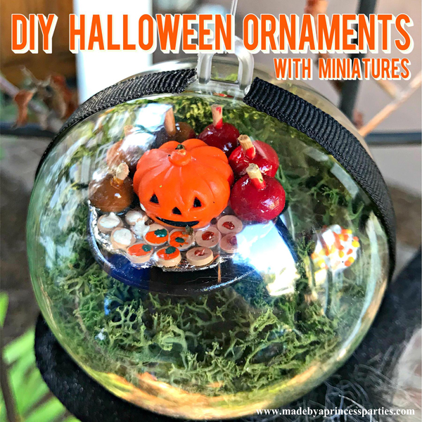 DIY Halloween Ornaments
