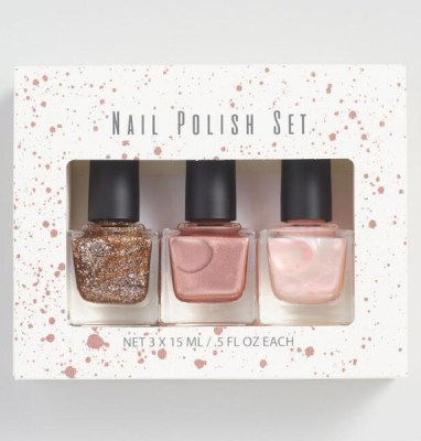 Golden Holiday Entertaining Essentials nail polish set