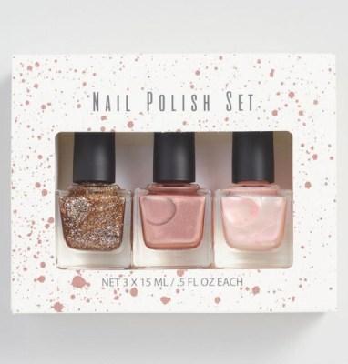 Golden Holiday Entertaining Essentials nail polish set