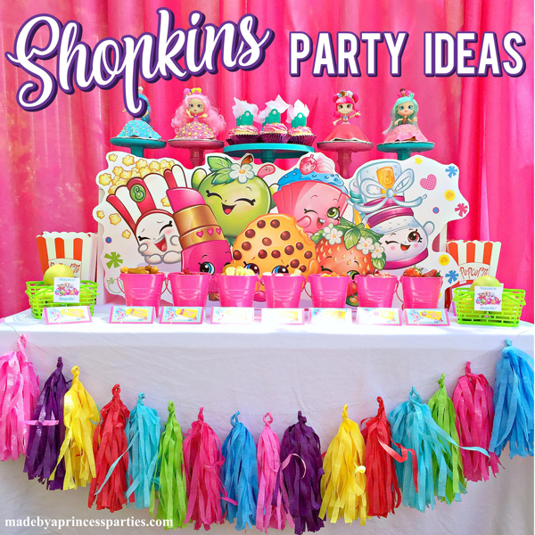 picture regarding Free Printable Shopkins Food Labels identify Shopkins Motivated Bash Food items Plans Free of charge Printables - Intended through