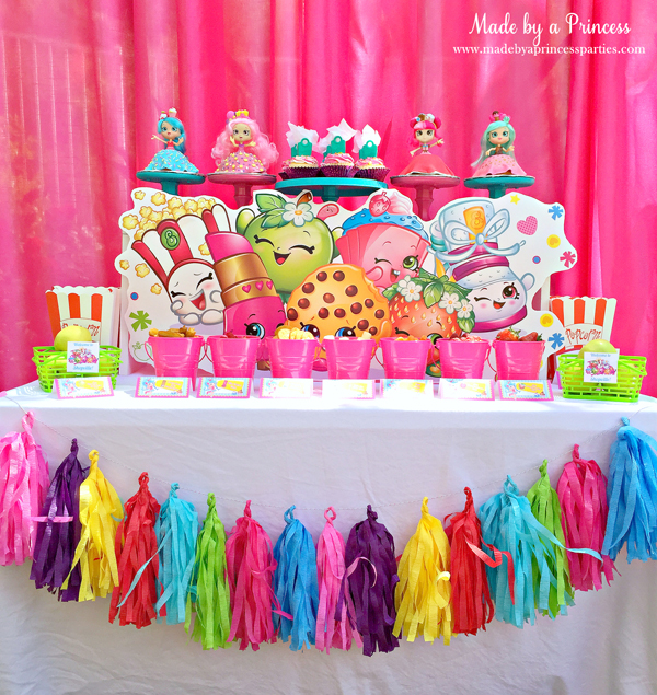 shopkins birthday party ideas made by