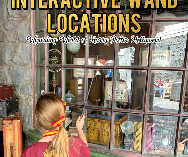 Harry Potter Interactive Wand Locations Hollywood