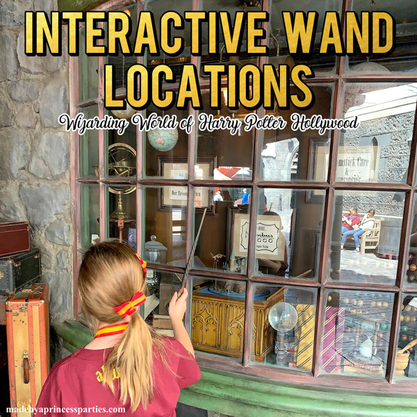 Everything you need to know about using your Harry Potter Interactive Wand at Wizarding World Hollywood