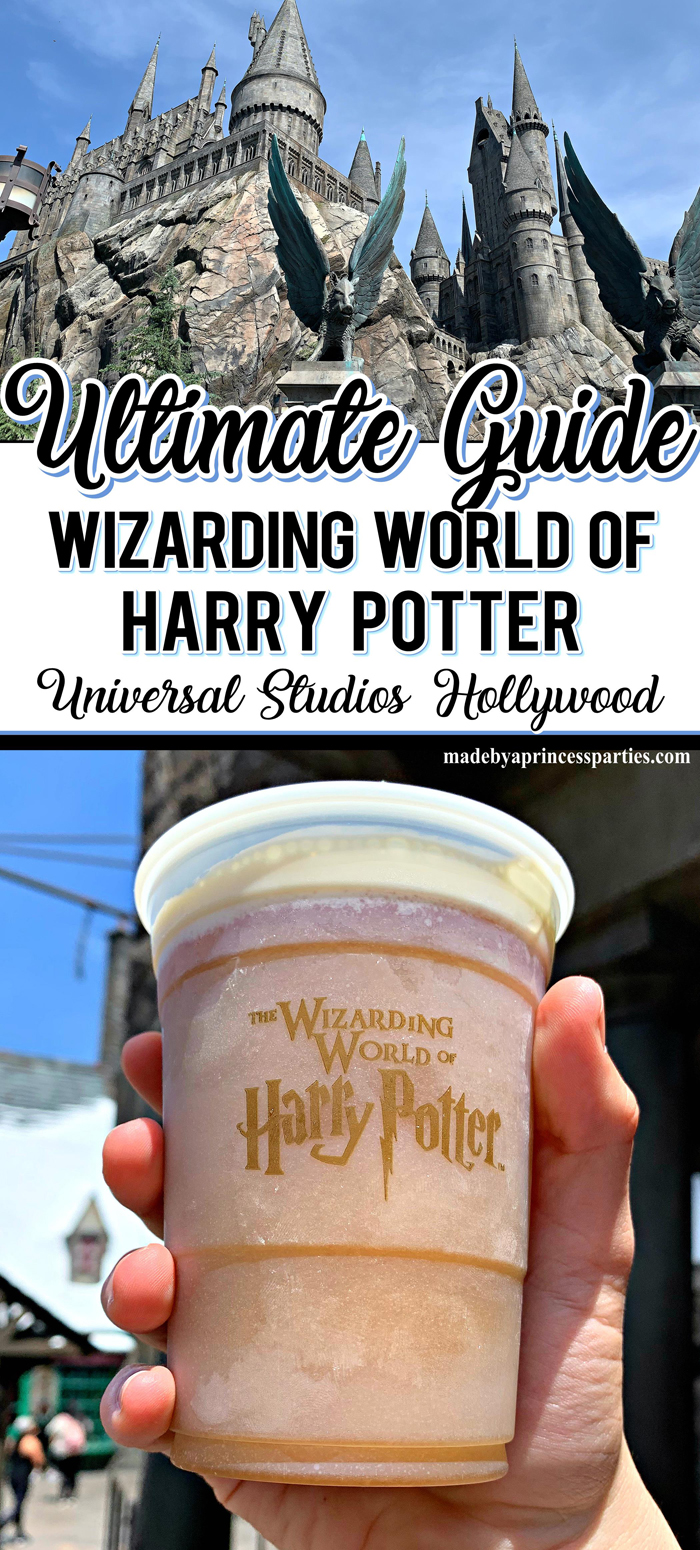 Wizarding World of Harry Potter Hollywood FIRST-TIMER tips when visiting Universal Studios Hollywood