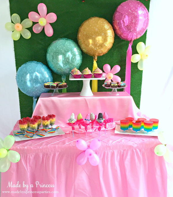 trolls birthday party ideas for girls