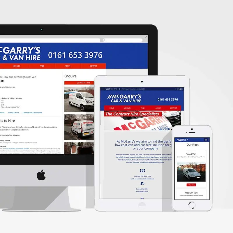 McGarry's Car & Van Hire Middleton