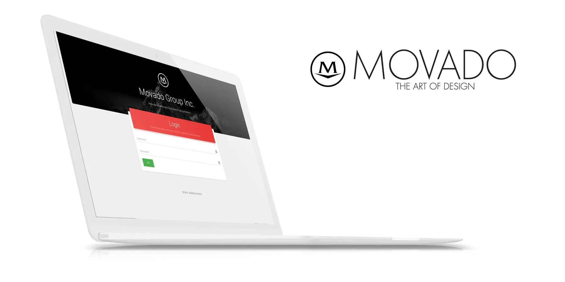 Movado Group Training Platform: By Factory, Digital Agency In Manchester